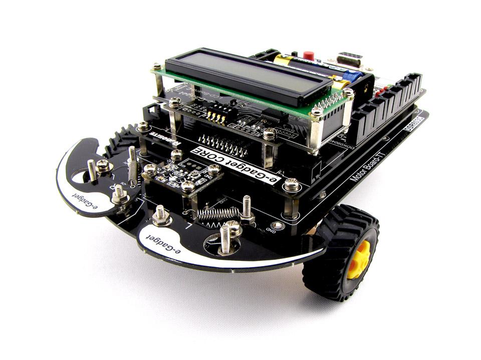 プログラミングロボットキットe-gadget(イー・ガジェット)