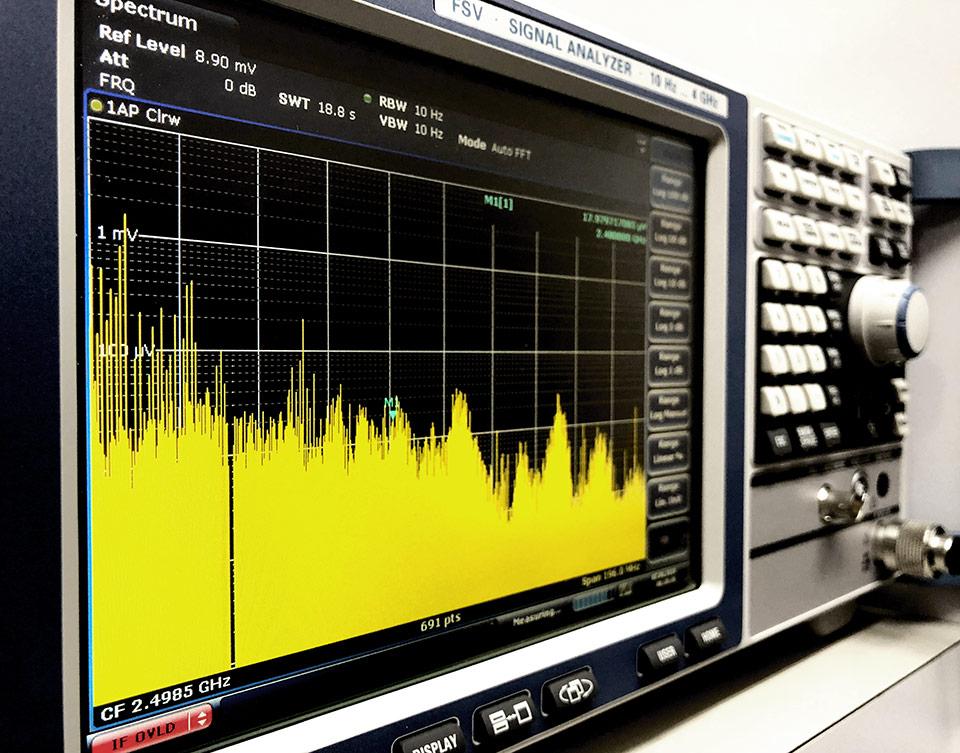 無線電波信号