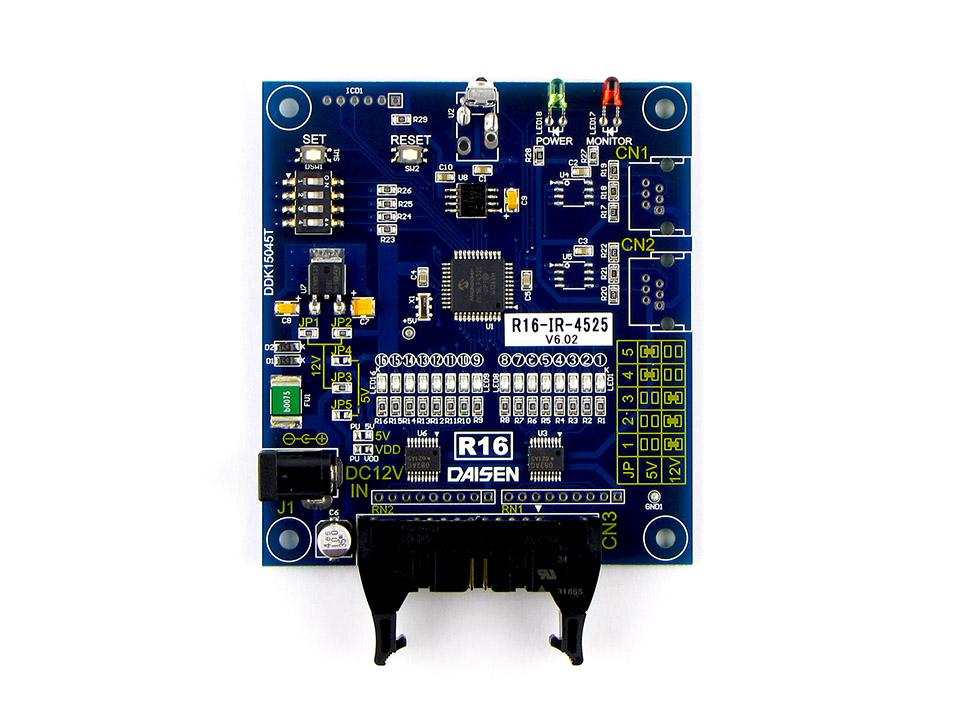 16点オープンコレクタ出力赤外線受信機R16-IR