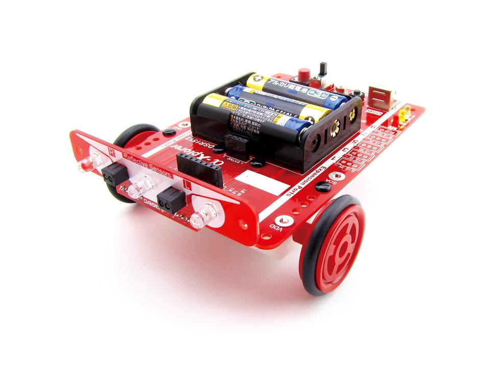プログラミングロボットキットα-Xplorer(アルファ・エクスプローラ)
