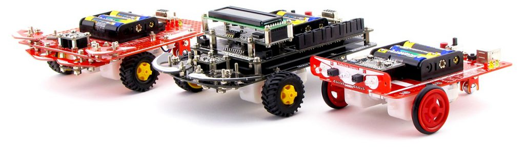 ダイセン製プログラミングロボットキットシリーズ