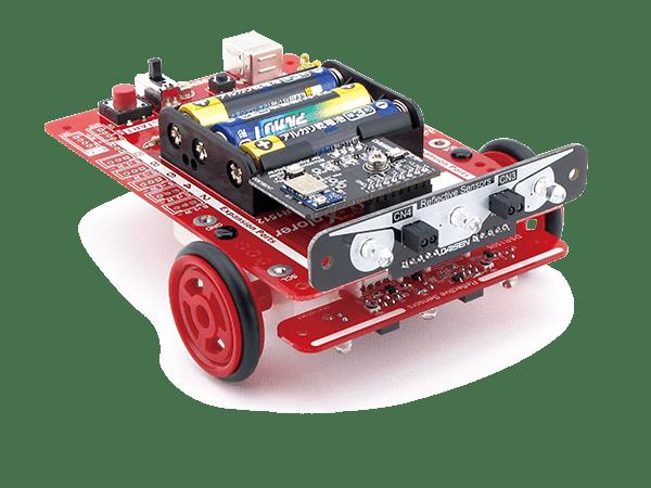 反射センサーを追加搭載したα-Xplorer(アルファ・エクスプローラ)